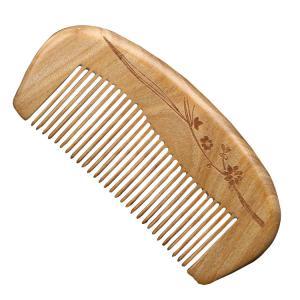 高級天然木緑壇を使用の櫛 一つ一つ職人が加工した【くし】です 【へブラシ】【ブラシ】【髪】  comb-40-k-q70213|it-donya