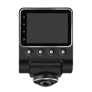ドライブレコーダー 前後2カメラ 後方撮影 360度 全方位 前後同時録画 Gセンサー 駐車場監視モード フルHD高画質 ドラレコ  dvr-x888-l80611|it-donya
