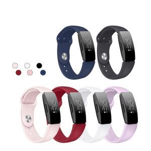 Fitbit Inspire/Fitbit Inspire HR用のシンプルでベーシックなデザインが...