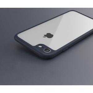 iPhone8 / iPhone7 クリアケース シリコン スリム シンプル アイフォン7 透明 ソフトケース|it-donya