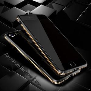 Apple iPhone8/iPhone7 アルミバンパー ケース 際立つエッジ 航空宇宙アルミ かっこいい アイフォン7 メタルサイドバンパー|it-donya
