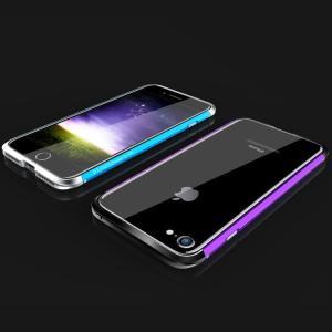 iPhone8 アルミバンパー ケース 際立つエッジ 金属アルミ かっこいい アイフォン8/7 メタルサイドバスマートフォン/スマフォ/スマホバンパー|it-donya