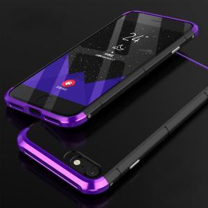 iPhone8 アルミバンパー ケース 背面カバー付き 際立つエッジ 金属アルミ  かっこいい アイフォン8 iPhone7 / iPhone8共通 メタルケース|it-donya