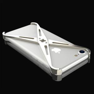 iPhone8 アルミフレーム 4コーナーガード  かっこいい アイフォン8 iPhone7 / iPhone8共通 メタルケース スマホのアルミフレームー製|it-donya