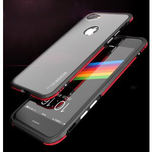 iPhone8 アルミバンパー ケース 背面カバー付き 際立つエッジ 金属アルミ  かっこいい アイフォン8 iPhone7 / iPhone8共通 メタルバンパー|it-donya