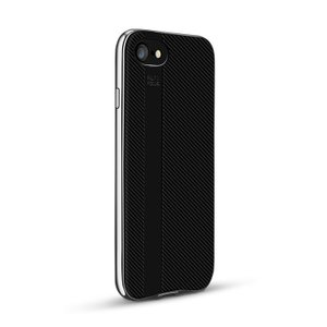 8e7c54a202 iPhone8 ケース 耐衝撃 カーボン調 TPU 2重構造 タフで頑丈 メッキ かっこいい アイフォン8  ソスマートフォン/スマフォ/スマホケース/カバー
