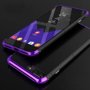 apple iPhone 8 Plus アルミバンパー ケース 背面カバー付き 際立つエッジ 金属アルミ かっこいい アイフォン8  ip8p-be11-t70915|it-donya