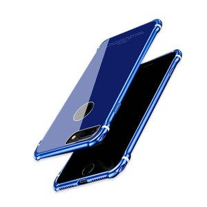 apple iPhone8 Plus アルミバンパー ケース 背面カバー付き 際立つエッジ 金属アルミ かっこいい アイフォスマートフォン/スマフォ/スマホバンパー|it-donya