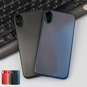 iPhone X ケース クリア シンプル ベーシック アイフォンX 半透明ケース アイフォンX 透明ケース|it-donya