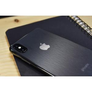iPhone X バックフィルム 着せ替えフィルム カーボン調 背面保護フィルム アイフォンX 保護フィルム|it-donya