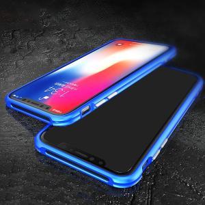 iPhone X アルミバンパー ケース 際立つエッジ 航空宇宙アルミ かっこいい アイフォンX メタルサイドバンパー|it-donya