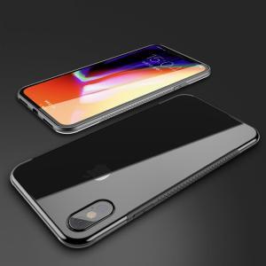 iPhone X クリア ケース 耐衝撃 シリコン&PC 2重構造 ハイブリット スリム アイフォンX 透明ケース|it-donya