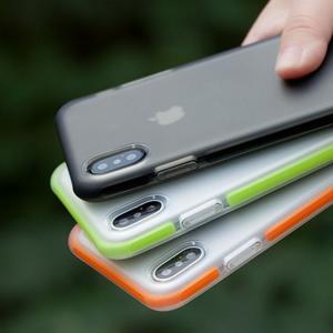 iPhone X クリアケース 耐衝撃 TPU 2重構造 アイフォンX ソフトカバー it-donya