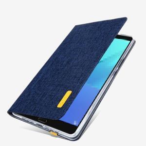 MediaPad M5 8.4 ケース カバー 手帳型 レザー スタンド機能 シンプルでスリム メディアパッド M5 8.4 デニ  m584-pq05-s80803|it-donya