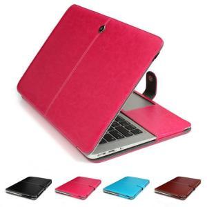 MacBook Air 13.3インチ ケース 収納バッグ 鞄 かばん 手帳 横開き 画面保護/軽量/薄 本体の傷つきガード 保護  mac13-15-l50316|it-donya