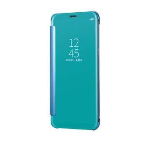 Galaxy Note8 クリアケース 2つ折り 半透明カバー アクリル スリム ギャラクシーノート8 透明ケース|it-donya