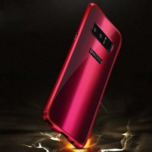 Samsung Galaxy Note8 ケース アルミ バンパー 背面パネル付き かっこいい メタル ギャラクシーノート8 アル  note8-amc03-w71023|it-donya