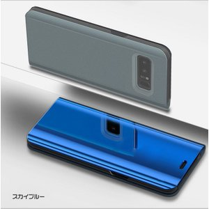 Samsung Galaxy Note8 ケース 2つ折り 液晶保護 パネル 半透明 サムスン ギャラクシー ノート8 耐衝撃ケー  note8-sam04d-w710201 it-donya