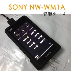 SONY NW-WM1A ケース 耐衝撃 シリコンケース NW-WM1A 背面カバー ソフトケース WALKMAN  nw-wm1a-g24-t61207