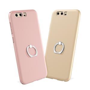 Huawei P10 ケース スマホリング付き 片手持ち シンプル ファーウェイ P10 ハードケース  p10-23-at-q70316|it-donya