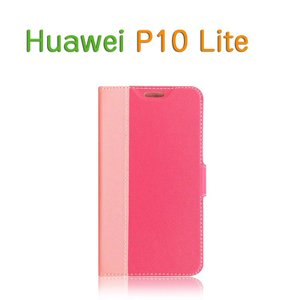 Huawei P10 lite ケース 手帳型 レザー ツートンカラー おしゃれ 上質 高級 PUレザー ファーウェイ P10 ラ  p10lite-63y-c-q70612|it-donya