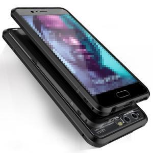 Huawei P10 Plus アルミバンパー ケース 透明バックプレート付き かっこいい  ファーウェイ P10 プラス メタル  p10plus-339-l70616|it-donya