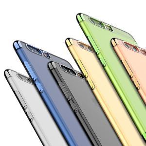 Huawei P10 Plus クリアケース TPU メッキ メタル調 シンプル かっこいい ファーウェイP10 Plus透明 カ  p10plus-63-ui-q70324|it-donya