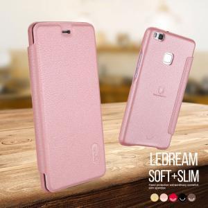 Huawei P9 Lite ケース 手帳 レザー  上質で高級なPU レザーケース シンプルでおしゃれなケース ファーウェイ P  p9lite-le-d95-t60606 it-donya