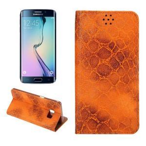 GALAXY S6 edge plus ケース 手帳 レザー おしゃれ かっこいい ヘビ柄 カード収納 ギャラクシー S6 エッジ  スマートフォン/スマフォ/スマホケース/カバー|it-donya
