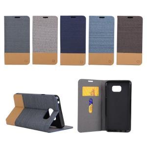 GALAXY S6 Edge plus ケース 手帳 レザー カード収納/ウォレット/財布型 ツートン ギャラクシーS6エッジ プ  s6edgeplus-99-f50818|it-donya