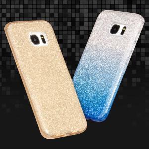 Samsung Galaxy S8   デコケース ラメ TPU かわいい カバー ギャラクシーS8用 背面カバー おすすめ おし  s8-27f-s-q70719|it-donya
