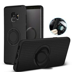 Samsung Galaxy S9 ケース/カバー TPU スマホリング付き 片手操作に便利なリングブラケット付き ギャラクシーS9 / SC-02K / SCV38  カバー サムスン おすすめ お it-donya