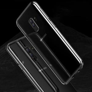 Galaxy S9+ アルミ バンパー ケース エッジ ギャラクシーS9+ メタルサイドバンパー アンドロイド/SC-03K / SCV39 it-donya