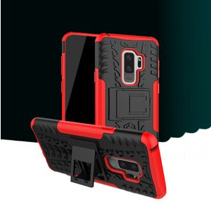 Galaxy S9+ ケース 耐衝撃 タフで頑丈 2重構造 サムスン ギャラクシーS9+ カバー TPU スタンド/SC-03K / SCV39 it-donya