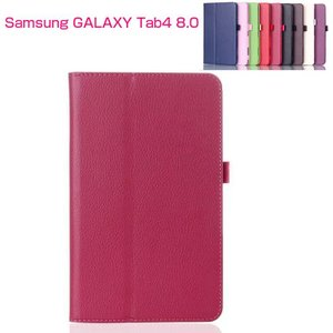 Galaxy tab4 8.0 ケース レザー 手帳 鉾開き ギャラクシー タブ4 8.0 タブレット カバー 画面保護 スタンド  t330-01-l40805|it-donya