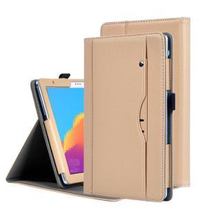 Huawei MediaPad T5 ケース/カバー 手帳型 レザー スタンド機能 カード収納 メディアパッド T5 ブック型 手帳タイプ レザーケース/カバー ファーウェイ ハーウェ it-donya