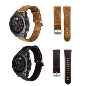 Huawei Watch GT/Watch GT 2 46mm 交換ベルト ヴィンテージ風 上質 P...