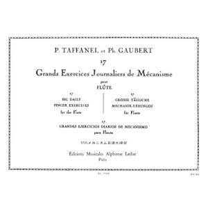 タファネル/ゴーベール : 17のメカニズムの日課大練習課題 (フルート教則本) ルデュック出版 itakiti-store