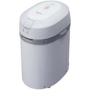 パナソニック 家庭用生ごみ処理機 リサイクラー グレー MS-N22-H(中古品) itakiti-store