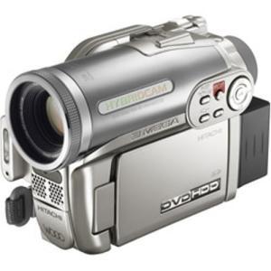HITACHI ハイブリッドDVDカメラ DZ-HS303 Wooo シャンパンシルバー DZ-HS30(中古品)|itakiti-store