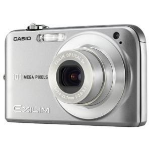 CASIO デジタルカメラ EXILIM (エクシリム) ZOOM EX-Z1050SR シルバー(中古品)|itakiti-store