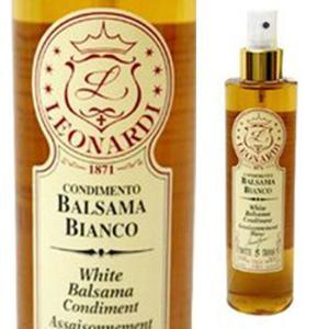 白バルサミコ酢 レオナルディ バルサマ スプレー  イタリア産バルサミコ酢 250ml|italiatanicha2