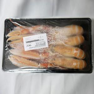 冷凍 手長エビ CAS ラングスティーヌ 約1kg 10〜15尾入り スコットランド産 スカンピ