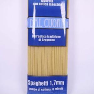 パスタ スパゲッティ 1.7mm 500g ダル クオーレ社 イタリア産
