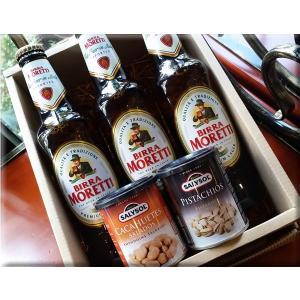・モレッテイ ビール  BIRRA MORETTI  原産国:イタリア  原材料:麦芽、ホップ、とう...