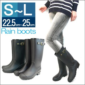 ロングジョッキー レインブーツ レディース レインブーツ レインシューズ 雨の日 防水 ラバーブーツ 雨靴 長靴|italico