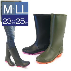 レインブーツ レディース ロング 水玉 防水 雨靴 ガーデンシューズ ペタンコブーツ ラバーブーツ 大きいサイズ|italico