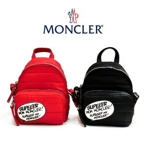 MONCLER モンクレール Kilia ミニショルダーバッグ 006581053048 コミックパッチ モンダック キルティングナイロン(t808)|italybag