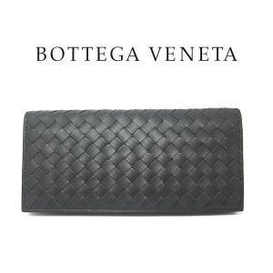 ボッテガヴェネタ 二つ折り長財布 BOTTEGAVENETA アルドアーズ イントレチャート VN コンチネンタルウォレット 120697(t901-1)|italybag