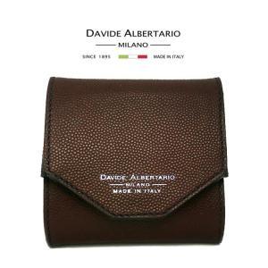 アウトレット品 コインケース メンズ 本革レザー 1934bo ダビデアルベルタリオ DAVIDE ALBERTARIO 小銭入れ ボックス型(t906-1)|italybag